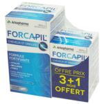 Acheter Forcapil Gélules croissance vitalité cheveux ongles B/180+60 à  JOUÉ-LÈS-TOURS