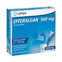 Efferalgan 500 mg Glé en sachet Sach/16 à  JOUÉ-LÈS-TOURS