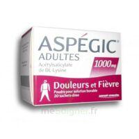 ASPEGIC ADULTES 1000 mg, poudre pour solution buvable en sachet-dose 20 à  JOUÉ-LÈS-TOURS