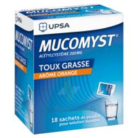 MUCOMYST 200 mg Poudre pour solution buvable en sachet B/18 à  JOUÉ-LÈS-TOURS