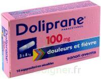 DOLIPRANE 100 mg Suppositoires sécables 2Plq/5 (10) à  JOUÉ-LÈS-TOURS