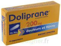 Doliprane 200 Mg Suppositoires 2plq/5 (10) à  JOUÉ-LÈS-TOURS