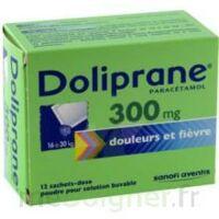 DOLIPRANE 300 mg Poudre pour solution buvable en sachet-dose B/12 à  JOUÉ-LÈS-TOURS