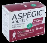 ASPEGIC ADULTES 1000 mg, poudre pour solution buvable en sachet-dose 30 à  JOUÉ-LÈS-TOURS