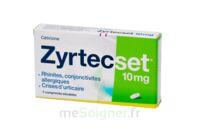 ZYRTECSET 10 mg, comprimé pelliculé sécable à  JOUÉ-LÈS-TOURS