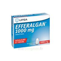 Efferalgan 1000 mg Comprimés pelliculés Plq/8 à  JOUÉ-LÈS-TOURS