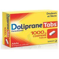 DOLIPRANETABS 1000 mg Comprimés pelliculés Plq/8 à  JOUÉ-LÈS-TOURS