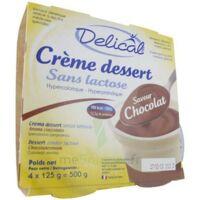 Delical Creme Dessert Hp Hc Sans Lactose, Pot 200 G X 4 à  JOUÉ-LÈS-TOURS