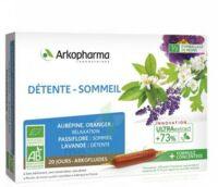 Arkofluide Bio Ultraextract Solution buvable détente sommeil 20 Ampoules/10ml à  JOUÉ-LÈS-TOURS