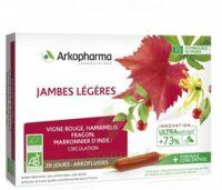 Arkofluide Bio Ultraextract Solution buvable jambes légères 20 Ampoules/10ml à  JOUÉ-LÈS-TOURS
