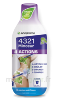 4321 Minceur 4 Actions Solution buvable Fl/280ml à  JOUÉ-LÈS-TOURS