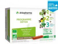 Arkofluide Bio Ultraextract Coffret programme détox 3x10 Ampoules/10ml à  JOUÉ-LÈS-TOURS