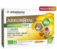 Arkoroyal Immunité Fort Solution buvable 20 Ampoules/10ml à  JOUÉ-LÈS-TOURS