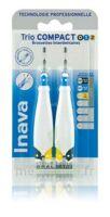 Inava Brossettes Tri Compact étroit  012 Noir 0,6mm/ Bleu 0,8mm/ Jaune 1mm à  JOUÉ-LÈS-TOURS