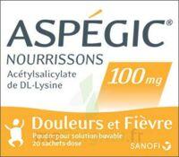 Aspegic Nourrissons 100 Mg, Poudre Pour Solution Buvable En Sachet-dose à  JOUÉ-LÈS-TOURS