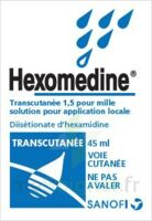 HEXOMEDINE TRANSCUTANEE 1,5 POUR MILLE, solution pour application locale à  JOUÉ-LÈS-TOURS