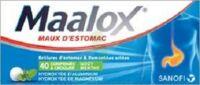 MAALOX HYDROXYDE D'ALUMINIUM/HYDROXYDE DE MAGNESIUM 400 mg/400 mg Cpr à croquer maux d'estomac Plq/40 à  JOUÉ-LÈS-TOURS