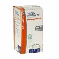 CALCIUM VITAMINE D3 BIOGARAN 500 mg/400 UI, comprimé à sucer à  JOUÉ-LÈS-TOURS