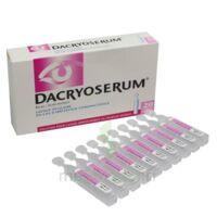 Dacryoserum Solution Pour Lavage Ophtalmique En Récipient Unidose 20unidoses/5ml à  JOUÉ-LÈS-TOURS