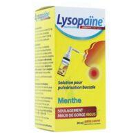 LYSOPAÏNE AMBROXOL 17,86 mg/ml Solution pour pulvérisation buccale maux de gorge sans sucre menthe Fl/20ml à  JOUÉ-LÈS-TOURS