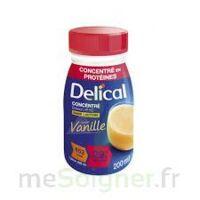 DELICAL BOISSON HP HC CONCENTREE Nutriment vanille 4Bouteilles/200ml à  JOUÉ-LÈS-TOURS