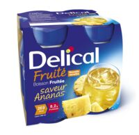 Delical Boisson Fruitee Nutriment Ananas 4bouteilles/200ml à  JOUÉ-LÈS-TOURS