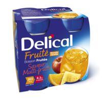 Delical Boisson Fruitee Nutriment Multi Fruits 4bouteilles/200ml à  JOUÉ-LÈS-TOURS