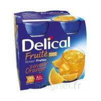 Delical Boisson Fruitee Nutriment Orange 4bouteilles/200ml à  JOUÉ-LÈS-TOURS