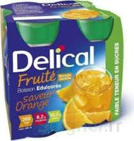 DELICAL BOISSON FRUITEE Nutriment édulcoré orange 4Bouteilles/200ml à  JOUÉ-LÈS-TOURS