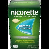 NICORETTE 2 mg Gom à mâcher médic sans sucre menthe fraîche Plq/105gom à  JOUÉ-LÈS-TOURS