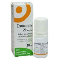 CROMABAK 20 mg/ml, collyre en solution à  JOUÉ-LÈS-TOURS