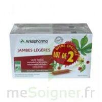 Arkofluide Bio Ultraextract Solution buvable jambes légères 2B/20 Ampoules/10ml à  JOUÉ-LÈS-TOURS