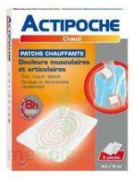Actipoche Patch chauffant douleurs musculaires B/2 à  JOUÉ-LÈS-TOURS