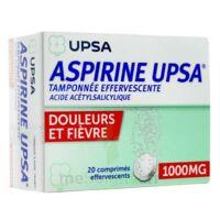ASPIRINE UPSA TAMPONNEE EFFERVESCENTE 1000 mg, comprimé effervescent à  JOUÉ-LÈS-TOURS
