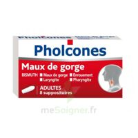 PHOLCONES BISMUTH ADULTES, suppositoire à  JOUÉ-LÈS-TOURS