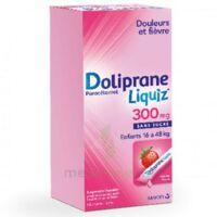 Dolipraneliquiz 300 mg Suspension buvable en sachet sans sucre édulcorée au maltitol liquide et au sorbitol B/12 à  JOUÉ-LÈS-TOURS
