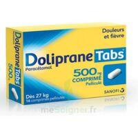 DOLIPRANETABS 500 mg Comprimés pelliculés Plq/16 à  JOUÉ-LÈS-TOURS