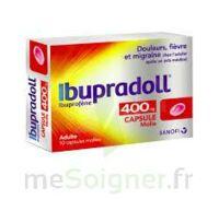 IBUPRADOLL 400 mg Caps molle Plq/10 à  JOUÉ-LÈS-TOURS