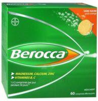 Berocca Comprimés effervescents sans sucre T/60 à  JOUÉ-LÈS-TOURS