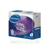 Manix King Size Préservatif avec réservoir lubrifié confort B/3 à  JOUÉ-LÈS-TOURS