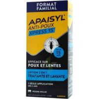Apaisyl Anti-poux Xpress 15' Lotion Antipoux Et Lente 100ml+peigne à  JOUÉ-LÈS-TOURS