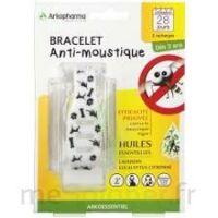 Arko Essentiel Bracelet anti-moustique enfant Noir/blanc à  JOUÉ-LÈS-TOURS