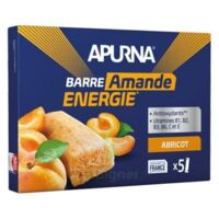 Apurna Barre énergie abricot amande 5*25g à  JOUÉ-LÈS-TOURS