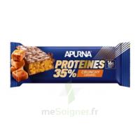 Apurna Barre hyperprotéinée crunchy caramel 45g à  JOUÉ-LÈS-TOURS