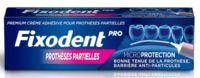 Fixodent Pro Crème Adhésive Pour Prothèse Partielle T/40g à  JOUÉ-LÈS-TOURS