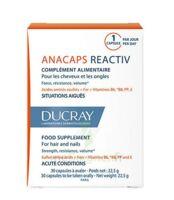 Ducray Anacaps Reactiv 30 Capsules à  JOUÉ-LÈS-TOURS