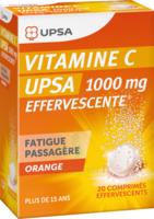 Vitamine C Upsa Effervescente 1000 Mg, Comprimé Effervescent à  JOUÉ-LÈS-TOURS